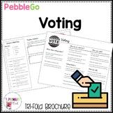 PebbleGo research brochure: Voting