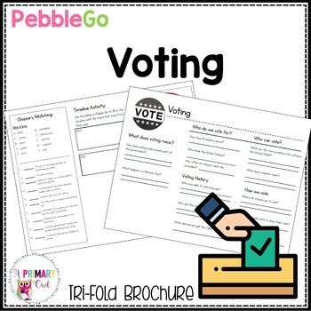 PebbleGo research brochure: Voting