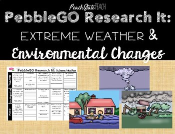 PebbleGO Research It: Environmental Changes & Extreme Weather