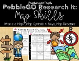 PebbleGO Research It: Map Skills (What is a Map, Symbols &