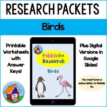 PebbleGo Bird Research
