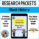 Pebble Go Biography Black History Research