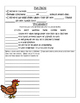 PebbleGo ~ Chickens Research Graphic Organizer