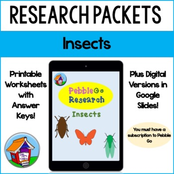PebbleGo Insects Research