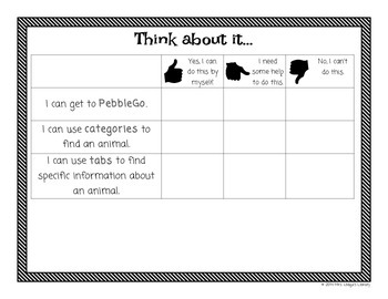 Introduction Activity and Lesson Plans for PebbleGo