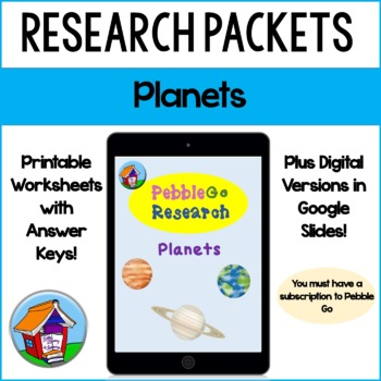 PebbleGo Planets Research