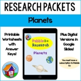 Pebble Go Planets Research -- Distance Learning