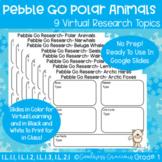 PebbleGo Polar Animals Research- Digital or Printable Science Activities