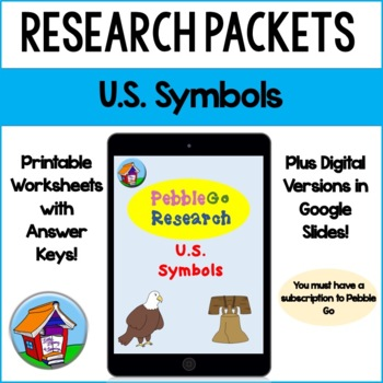 PebbleGo U.S. Symbols Research