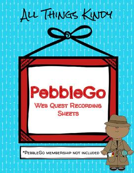 PebbleGo WebQuest