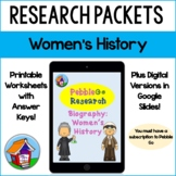 PebbleGo Biography: Women's History Research