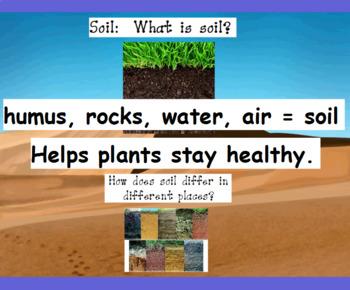 Pebbles, Sand & Silt:  FOSS flipchart and activities