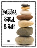 Pebbles, Sand, and Silt Science Student Journal and Word Wall Words