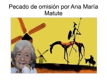 Pecado de omisión por Ana María Matute