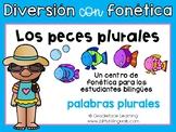 Spanish Phonics Center Plural Endings - Centro de fonética Palabras plurales