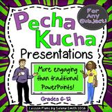 Pecha Kucha Presentations