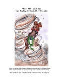 Pecos Bill - A Tall Tale -Easy Reading Version (with review quiz)