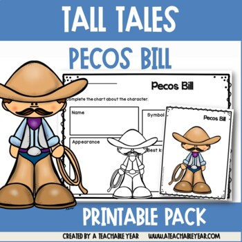 Pecos Bill - Tall Tales