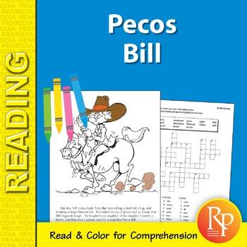 Pecos Bill: Read & Color