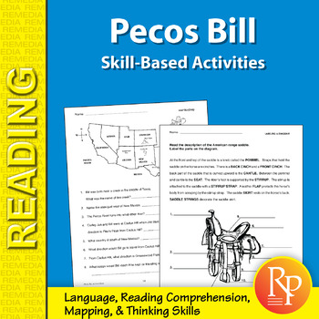 Pecos Bill: Skill-Based Activities