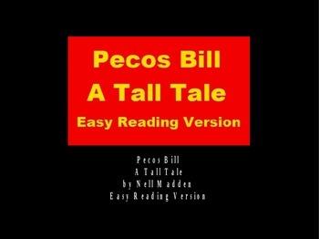 Pecos Bill Tall Tale Powerpoint