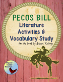 Pecos Bill Tall Tale Literature Activities and Academic Vocabulary Study