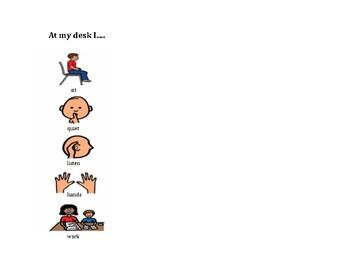 Pecs visuals for classroom