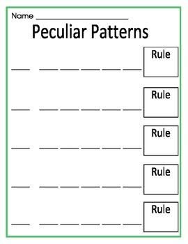 Peculiar Patterns Center Pack