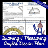Drawing and Measuring Angles Lesson Plan