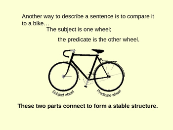Pedaling Through Sentence Structures