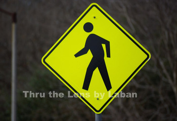 Pedestrian Crossing Sign Stock Photo #46