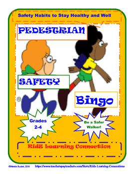 Pedestrian Safety Bingo