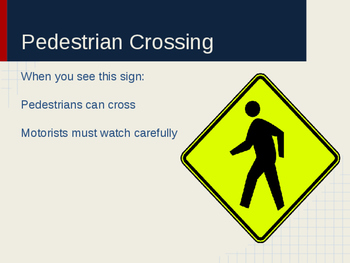 Pedestrian Safety Signs