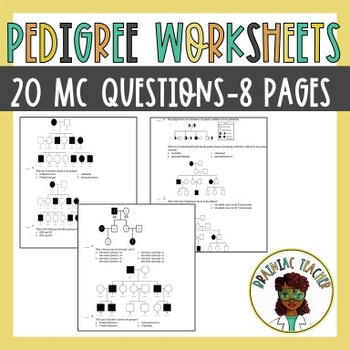 Pedigree Worksheets Teaching Resources Teachers Pay Teachers