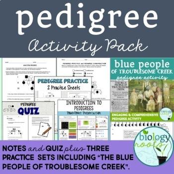 Pedigree Activity Pack (mini unit)