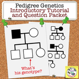 Pedigree Genetics: Introduction Questions and Homework for