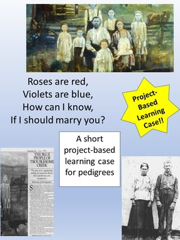 Pedigree PBL-The Blue People of KY Incl Sketch Notes,Teacher's Guide,PPT,& Quiz!