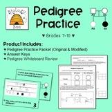 Pedigree Practice: MS-LS3-2 & HS-LS3-3
