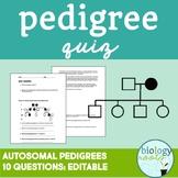 Pedigree Quiz