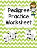 Pedigree Practice Worksheet