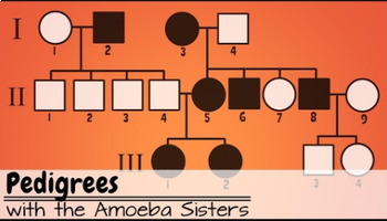 Pedigrees Answer Key By The Amoeba Sisters (Amoeba Sisters ...