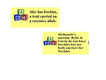 Pedigrees Genetics Task Cards Fun Review