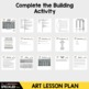 Art Lesson Plan. Pediment Poses. Greek Architecture with a twist. Elementary art
