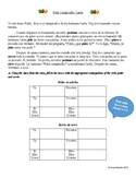 Pedir y servir STORY- Spanish stem change verbs e to i.