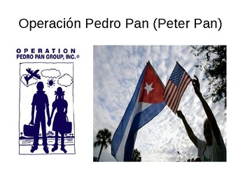 Pedro Pan (Persuasive writing assignment for Spanish class)