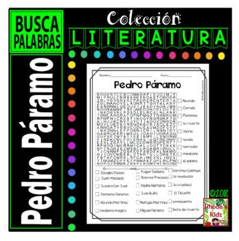 Pedro Páramo  -Word search