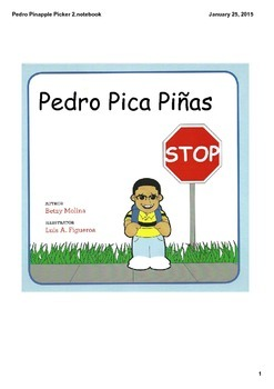 Pedro Pica Piñas a story in Spanish about bullying