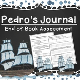 Pedro's Journal: End of Book Assessment