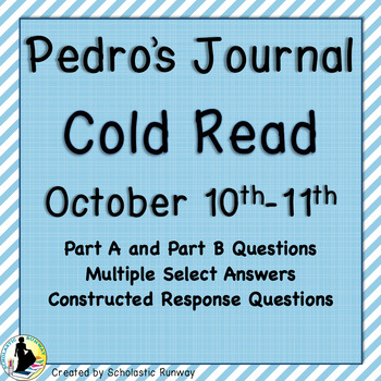 Louisiana Guidebook 2.0 5th Pedro's Journal Reading Task (Additional Cold Read)