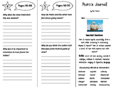 Pedro's Journal Trifold - ReadyGen 2016 5th Grade Unit 4 Module A